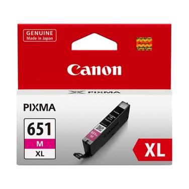 Canon CLI-651XLM Hi-Yield Magenta Inkjet Cartridge