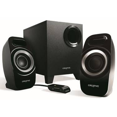 Creative Inspire T3300 2.1 Speaker System, Limit 1 per customer