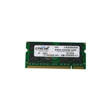 SODIMM DDR3 8GB 1600MHz 1.35v Crucial RAM for Notebooks PN CT102464BF160B