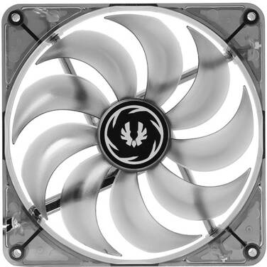 120mm BitFenix Spectre Black Tinted BLUE LED Case Fan PN BF-FAN-120BL