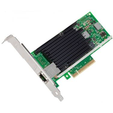PCIe 10 Gigabit Intel Single Port Server Adapter PN X540T1BLK