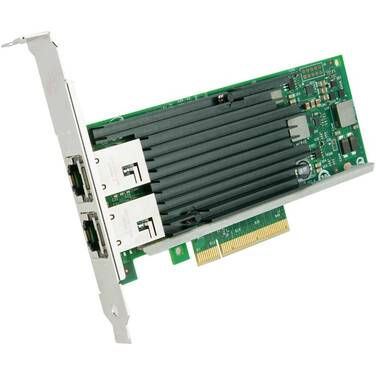 PCIe 10 Gigabit Intel Dual Port PCIe Server Adapter PN X540T2BLK