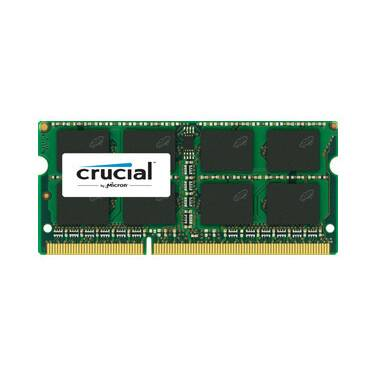 SODIMM DDR3 4GB 1600MHz 1.35v Crucial RAM for Notebooks