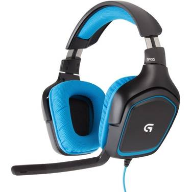 Logitech 3.5mm/USB G430 7.1 Gaming Headset with Microphone PN 981-000538