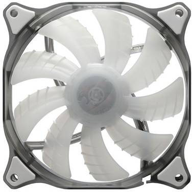 120mm Cougar White LED Case Fan PN CF-D12HB-W