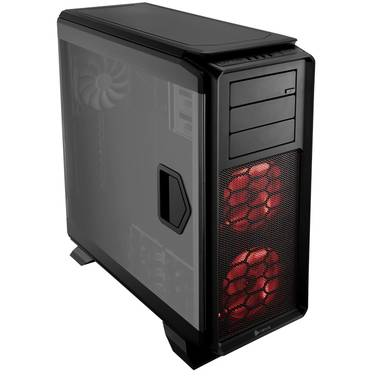 Corsair Full ATX Graphite 760T Case Black (No PSU) PN CC-9011073-WW