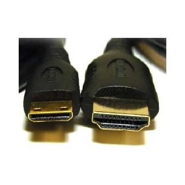 50cm HDMI Male to Mini HDMI Male Cable