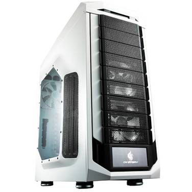 CoolerMaster Full ATX CM Stryker Case White with Window (No PSU)