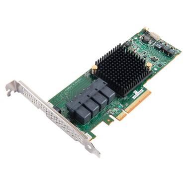 16 Port Adaptec 71605E PCIe 256MB SATA/SAS Controller PN 2274500-R