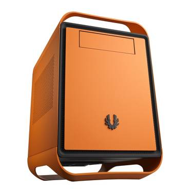 BitFenix Mini-ITX Prodigy Case Orange (No PSU) SHOP SOILED - CLEARANCE - PACKAGING DAMAGED
