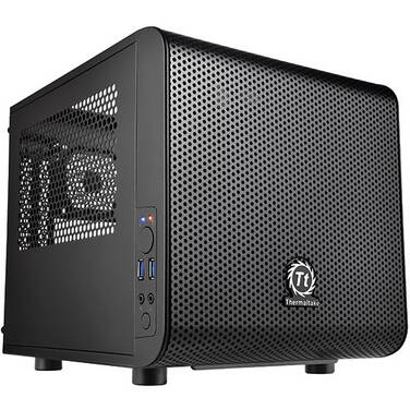 Thermaltake Mini-ITX Core V1 Case (No PSU) PN CA-1B8-00S1WN-00