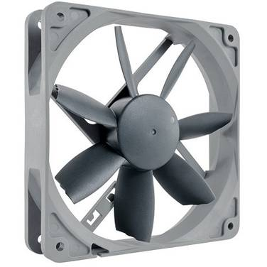 120mm Noctua NF-S12B Redux Edition 1200RPM Quiet Case Fan PN NF-S12B-REDUX-1200