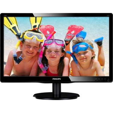 21.5 Philips 226V4LAB LED Monitor with Speakers