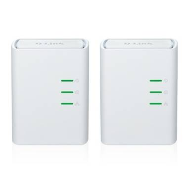 D-Link DHP-309AV 500Mbps Ethernet over Power Adapter Kit