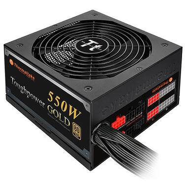 550 Watt Thermaltake Tough Power 80+ Gold Modular Power Supply PN TPD-0550M