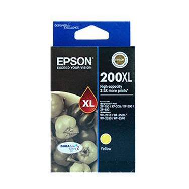 Epson 200 Yellow High Yield Ink Cartridge PN C13T201492