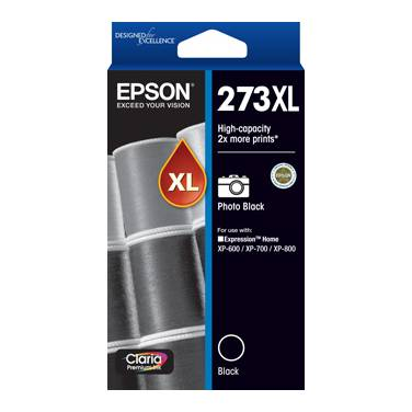 Epson 273 Black High Yield Ink Cartridge PN C13T274192