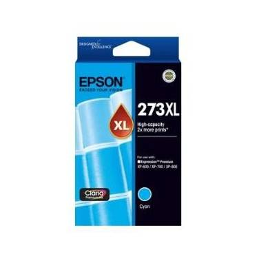 Epson 273 Cyan High Yield Ink Cartridge PN C13T275292