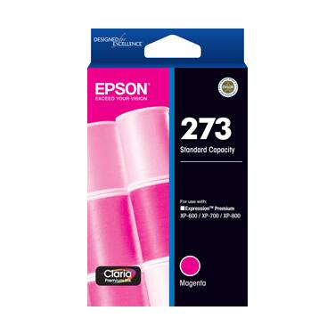 Epson 273 Magenta High Yield Ink Cartridge PN C13T275392