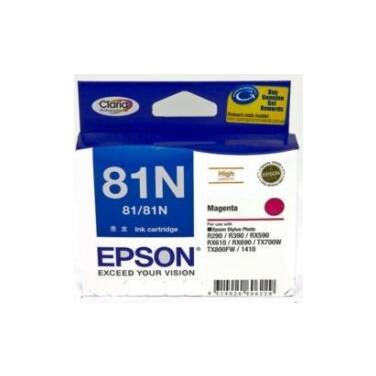 Epson 81N Magenta High Yield Ink Cartridge PN C13T111392