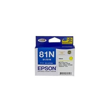 Epson 81N Yellow High Yield Ink Cartridge PN C13T111492