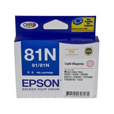 Epson 81N Light Magenta High Yield Ink Cartridge PN C13T111692