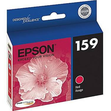Epson T1597 Red Ink Cartridge PN C13T159790