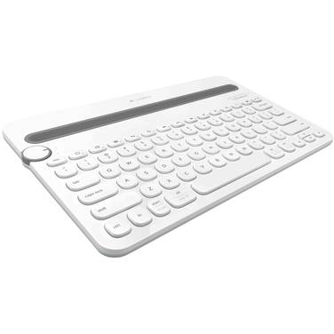 Logitech K480 Bluetooth Multi-Device Keyboard White PN 920-006381