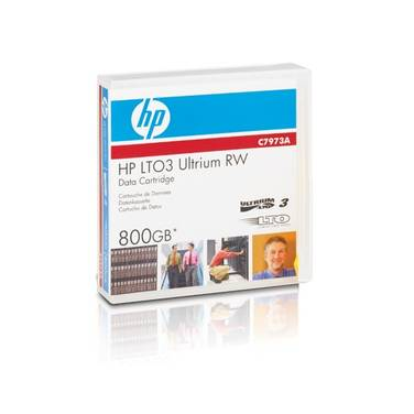 HP LTO-3 400GB - 800GB Ultrium Data Cartridge PN C7973A