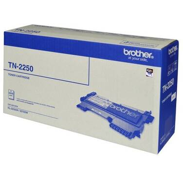 Brother TN-2250 Black Toner Cartridge (2,600 Pages)