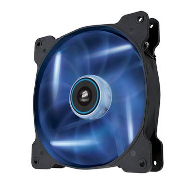 140mm Corsair Air Series AF140 Blue LED Quiet Case Fan PN CO-9050017-BLED