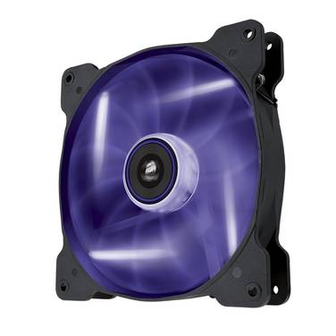 140mm Corsair Air Series AF140 Purple LED CO-9050017-PLED Quiet LED Case Fan