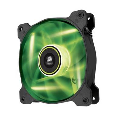 120mm Corsair Air Series SP120 Green LED Case Fan PN CO-9050022-WW