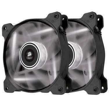 120mm Corsair SP120 LED White CO-9050030-WW Twin Pack Case Fan