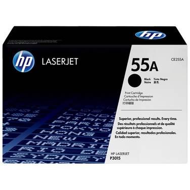 HP 55A Black Toner Cartridge (6,000 Pages) PN CE255A