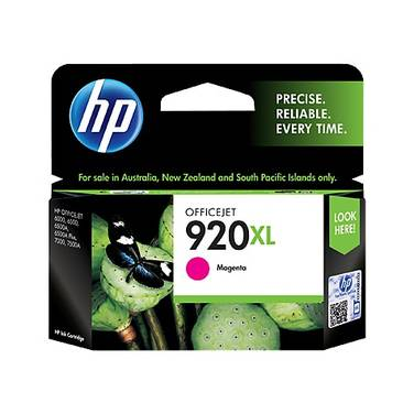 HP 920XL Magenta High Yield Ink Cartridge (700 Pages) PN CD973AA
