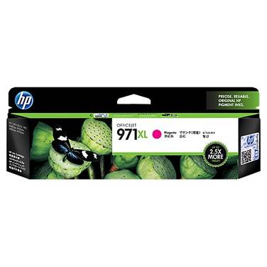 HP 971XL Magenta High Yield Ink Cartridge (6,600 Pages) PN CN627AA