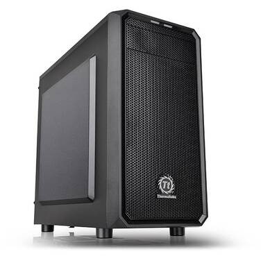 Thermaltake MicroATX Versa H15 Case Black USB 3.0 with 450W PSU PN CA-3D4-45S1NA-00