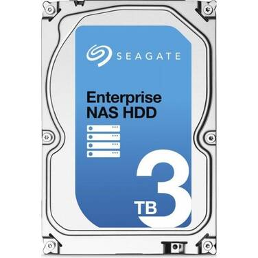 3TB Seagate 3.5 7200rpm SATA 6Gb/s Enterprise HDD PN ST3000VN0001