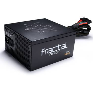 750 Watt Fractal Design Edison M 80+ Gold Modular Power Supply PN FD-PSU-ED1B-750W