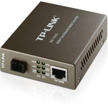 TP-Link TL-MC112CS 10/100Mbps WDM Media Converter