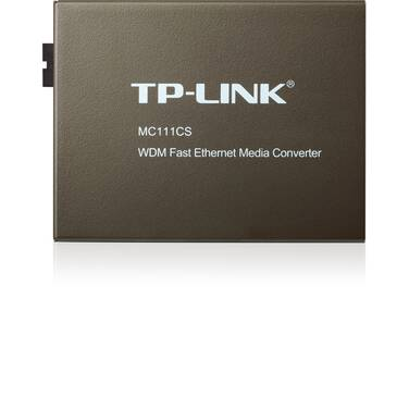 TP-Link TL-MC111CS 10/100Mbps WDM Media Converter