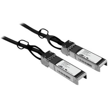 StarTech 1m Cisco Compatible SFP+ 10-Gigabit Ethernet (10GbE) Passive Twinax Direct Attach Cable