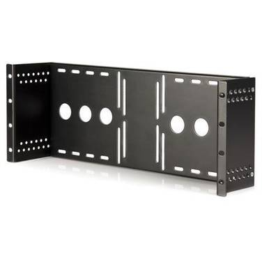StarTech Universal VESA LCD Monitor Mounting Bracket for 19in Rack or Cabinet