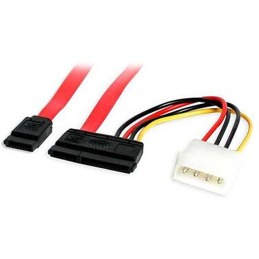 StarTech 18in SATA Serial ATA Data and Power Combo Cable