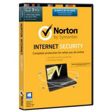 Norton Internet Security Retail for 3 PCs PN 21328006