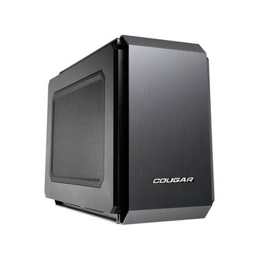 Cougar Mini-ITX QBX Case Black (No PSU)