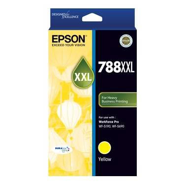 Epson 788XXL Yellow Ink Cartridge (4,000 Pages) PN C13T788492