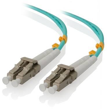 ALOGIC 50m LCLC 10G Multi Mode Duplex LSZH Fibre Cable 50/125 OM3