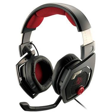Thermaltake TteSports SHOCK 3D DTS 7.1 USB Gaming Headset PN HT-RSO-DIECBK-13